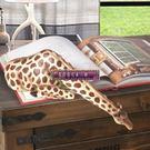 家居飾品擺件喝水的長頸鹿樹脂裝飾禮品擺件...