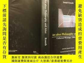 二手書博民逛書店Art罕見After Philosophy and After: