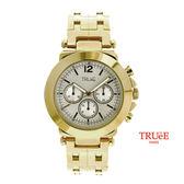 瑞士TRUeE 瑞時寶嘉 TC150129  設計家金色經典男腕錶 (45mm)