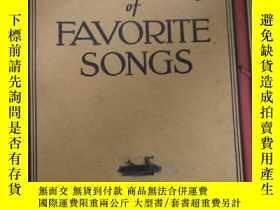 二手書博民逛書店THE罕見GOLDEN BOOK OF FAVORITE SONGSY19285 見書影 SCHMITT,HA