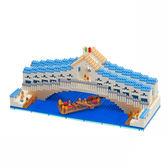 【Tico微型積木】世界建築系列-里阿爾托橋(1110+) T-1525