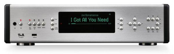 【音旋音響】T+A R 1000 E 多媒體/CD播放收音擴大機 Multi Source Receiver 銀色 公司貨 有保固