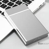(萬聖節)煙盒 華韻自動彈蓋煙盒男女士個性創意超薄20只裝全自動不銹鋼細煙煙盒