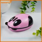 靜音光電滑鼠2.4G無線充電熊貓滑鼠工廠供應卡通動物可愛滑鼠滑鼠