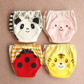 尿布褲2條裝新款日系寶寶學習褲 嬰兒純棉四層六層紗布可洗訓練褲 小天使