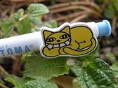 【GC239】韓版[HK1015]黃色淘氣貓咪 懶貓造型 自動鉛筆 EZGO商城