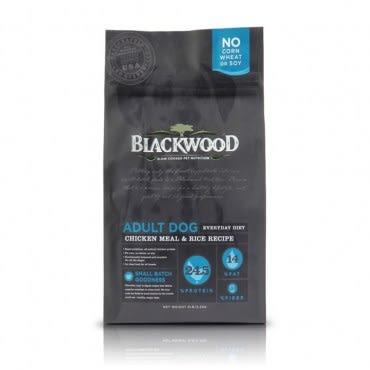 【BLACKWOOD】柏萊富特調成犬活力配方雞肉+糙米-15磅(6.8kg)