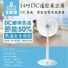 【免運費】大家源 14吋DC節能遙控立扇 TCY-8754