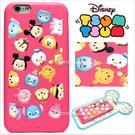 官方授權 迪士尼 Tsum Tsum 疊疊樂 立體 皮革 Q版 iPhone6/6S手機殼保護套皮套 經典角色