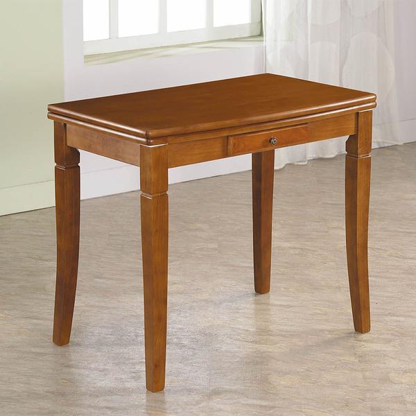 麥特柚木伸縮餐桌(18CS3/235-3)【DD House】
