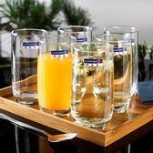 [618好康又一發]玻璃杯杯牛奶杯喝水杯飲料杯6只套裝