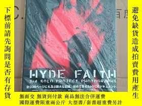 二手書博民逛書店hyde罕見faith 全綵圖Y268489