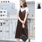 長洋裝 連身洋裝 細肩帶洋裝 日本品牌【coen】