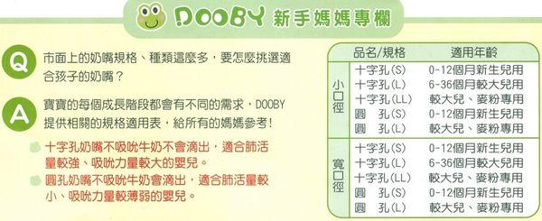 寬口徑(3入)  防脹圓孔奶嘴(S)D-1028(L)D-1029