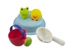 Toyroyal樂雅 Flex洗澡系列-歡樂青蛙組/洗澡玩具/沙灘玩具[衛立兒生活館]