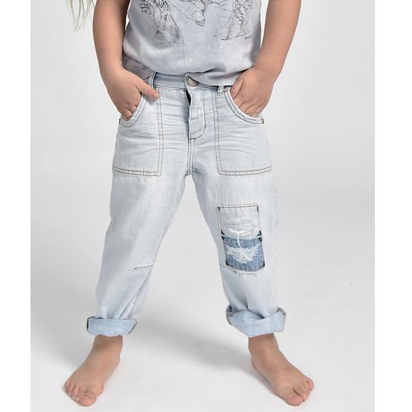 ONETEASPOON KIDS  BOYFRIEND JEAN 牛仔褲童裝(藍)