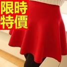 高腰短裙子新款氣質-典型美觀愜意日系夏季女裝6色53s53【巴黎精品】