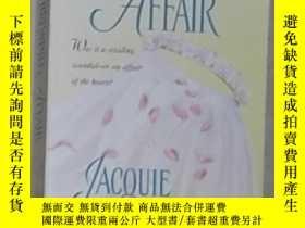 二手書博民逛書店英文原版罕見Whirlwind Affair by Jacqui