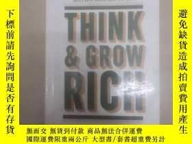 二手書博民逛書店Think罕見& Grow Rich 思考致富 (英文書)Y26