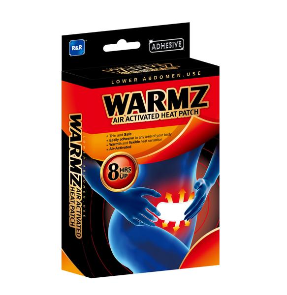溫熱適 熱敷貼片(腹部專用)(2片/盒)
