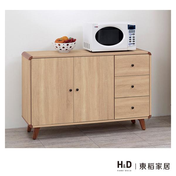 柏克4尺收納餐櫃(20JS1/830-3)/H&D東稻家居