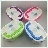 110V伏電壓電熱飯盒美國台灣日本加拿大用加熱保溫插電電飯盒熱飯 交換禮物