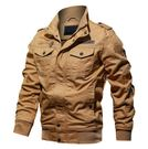 男生秋裝韓版運動複古外套 商務型休閒秋天秋季夾克上衣 男士百搭型男個性工裝立領潮流外衣