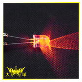 ◤大洋國際電子◢ 10mm透明殼 黃光 高亮度LED (250PCS/包) 0629-Y LED 二極管