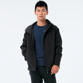 BigTrain 防風撥水軟殼機能外套-男-黑-B3022388