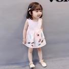 0一1-2-3歲女寶寶女童洋裝純棉嬰兒裙...