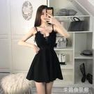 夜店洋裝 性感夜店女裝收腰心機設計感感夜場連衣裙氣質法式桔梗裙 快速出貨