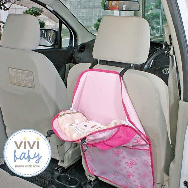 【全新出清現貨一組】ViViBaby-Disney迪士尼米妮汽車椅背袋 599元