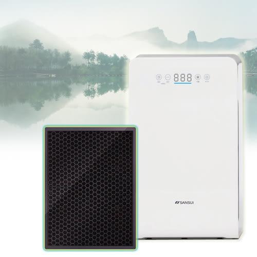 山水SANSUl 空氣清淨機 四重過濾/銀離子/HEPA/活性碳/負離子---濾網-SAP-2258型號專用