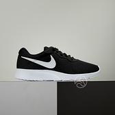 Nike Tanjun 男鞋 黑色 輕量 透氣 復刻 休閒 慢跑鞋 812654-011