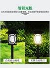 頂獅龍太陽能戶外庭院燈防水LED七彩花園草坪燈景觀裝飾燈插地燈 露露日記