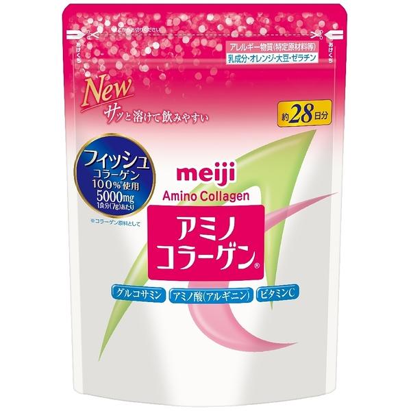 新包裝 MEIJI 明治膠原蛋白粉28天補充包 另售 三得利芝麻明 FANCL DHC Moteliner pw38