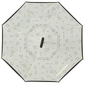 車用反折雨傘反向傘免持式超大德國反轉汽車傘反開創意晴雨傘兩用 YDL