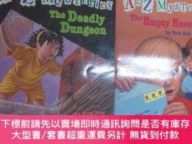 二手書博民逛書店A罕見TO Z MYSTERIES(THE DEADLY DUNGEON+THE EMPTY ENVELOPE)