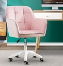 單人椅 電腦椅家用舒適辦公椅子書房桌化妝座椅靠背學習椅宿舍大學生TW【快速出貨八折搶購】