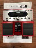 凱傑樂器 中古美品 BOSS VE-20 Vocal Echo 人聲 和聲 主唱 人聲效果器