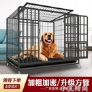 狗籠子 大型犬中型犬金毛拉布拉多哈士奇狗籠加粗寵物籠小型室內 NMS小艾新品