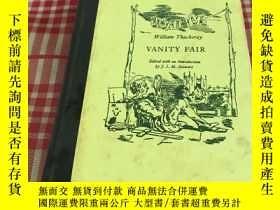 二手書博民逛書店William罕見Thackeray VANITY FAIR(名利場)精裝Y310945