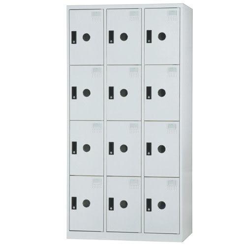 【時尚屋】DF多用途3x6尺鋼製12格置物櫃(免組裝)(免運費)(台灣製)