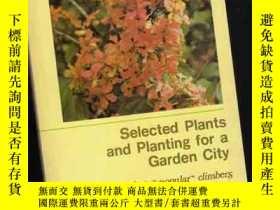 二手書博民逛書店Selected罕見Plants and Planting fo