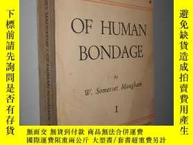 二手書博民逛書店Of罕見Human Bondage 1 by W. Somers