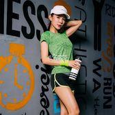 瑜伽服健身房運動套裝女跑步短袖褲女速乾韓版兩件套 俏腳丫