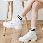 【5雙裝】襪子女日系學院風運動襪純棉【聚寶屋】