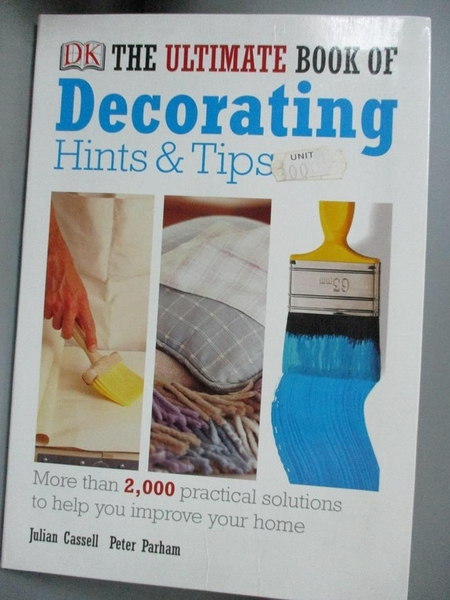 【書寶二手書T2/設計_YGX】The Ultimate Book of Decorating Hints & Tips
