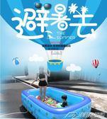嬰兒游泳池充氣兒童寶寶家庭家用小孩成人水池超大號大型加厚泳池  潮流前線