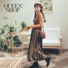 Queen Shop【03060200】經典百搭格紋吊帶洋裝*現+預*